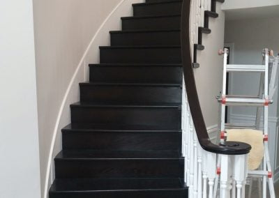 Conversion from carpet staircase to hardwood staircase