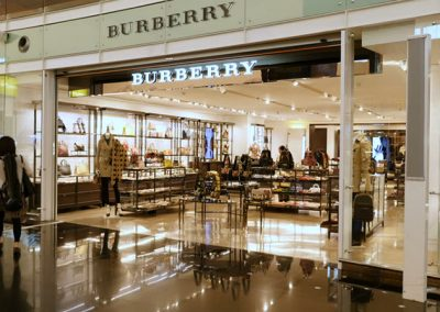 Burberry Store Renovation in Vancouver