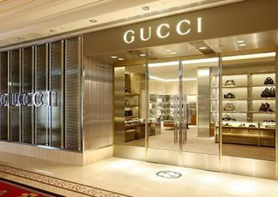 Gucci Store Renovation in Vancouver