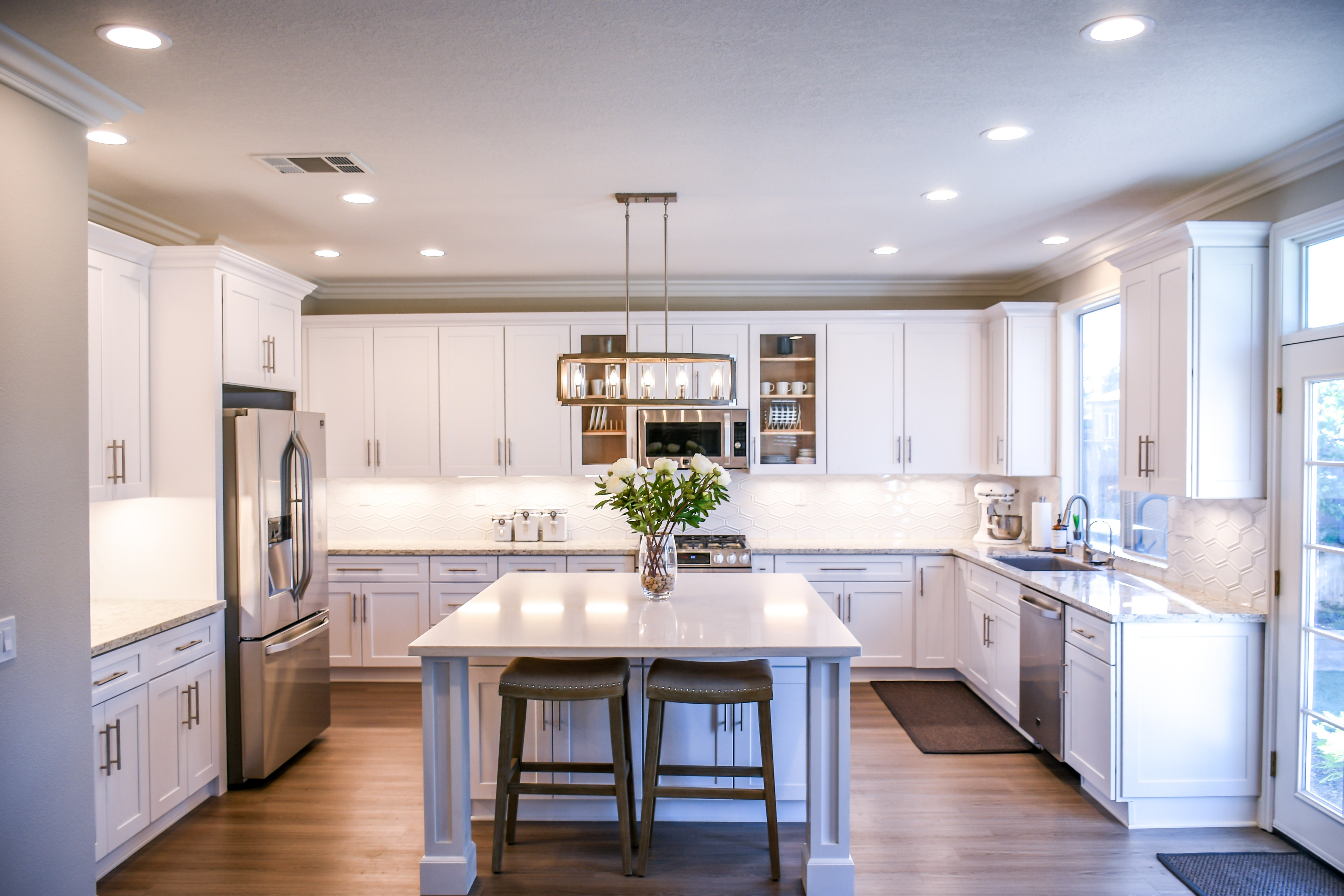 Design Kitchen Cabinet Design Quartz Countertops Surrey