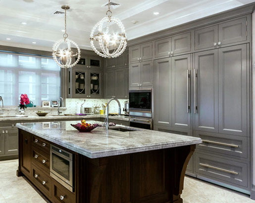 How to Pair Countertop Colours with Dark Cabinets